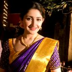 Sayyeshaa, saree, traditional dress, hd, Junga