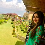 Sayyeshaa, wallpaper, green dress, natural