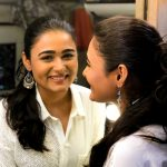 Shalini Pandey, mirror, smile, telugu, tamil actress