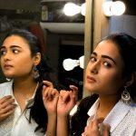 Shalini Pandey, tamil actress, mirror, rare, unseen