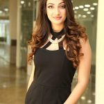 Sherlin Seth, Miss India 2017 Tamil Nadu, black dress, event