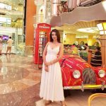 Sherlin Seth, Upcoming Tamil Actress, red car