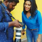 Shilpa Manjunath,  Kaali Actress, cute look, blue dress