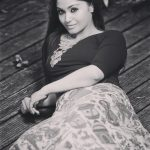 Shritha Sivadas, Dhilluku Dhuddu 2 Actress, black and white
