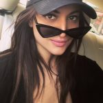 Sonakshi Sinha, Selfie, black coolers, car