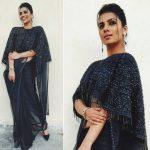 Sruthi Hariharan, Nathicharami actress, black fit