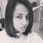 Trisha Krishnan, hair cut, hair style, face, cute
