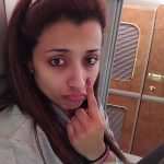 Trisha Krishnan, no makeup, face, instagram