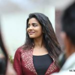 Vada Chennai press Meet, Aishwarya Rajesh, candid