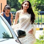 Vada Chennai press Meet, Andrea Jeremiah, car