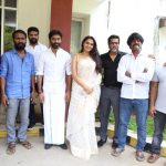 Vada Chennai press Meet, Andrea Jeremiah, team