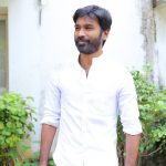 Vada Chennai press Meet, Dhanush, white vesti, shirt