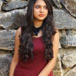 Varsha Bollamma, Mandharam heroine, outside, new look