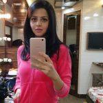 Vedhika, mirror selfie, recent snap