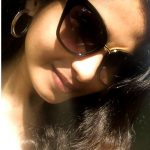 Venba, Venba actress, selfie, glass, hair style