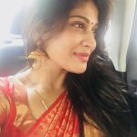 Vijayalakshmi, saree, traditional dress, hair style