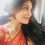Vijayalakshmi, saree, traditional dress, hair style