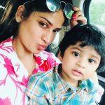 Vijayalakshmi, selfie, son, mummy, latest