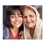 Wamiqa Gabbi, grand mother