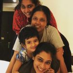 kiki vijay, family, sister, love, girls