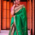 kiki vijay, wallpaper, hd, cute, saree