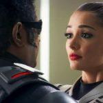 2.0, enthiran 2, robo 2, Rajinikanth, Amy Jackson, romance, kiss