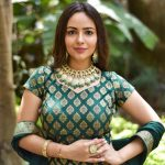 Aanchal Munjal, Sei heroine, green dress, lovely