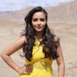 Aanchal Munjal, desert, yellow dress