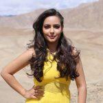 Aanchal Munjal, desert, yellow dress
