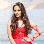 Aanchal Munjal, red dress, attractive