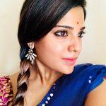 Aathmika, new hair style