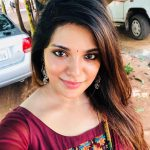 Aathmika, red dress, new look