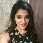 Aathmika, selfie, black dress