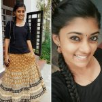Ammu Abhirami, Ratsasan Actress, black dress