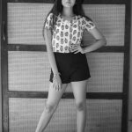 Anaswara Kumar, Photo Shoot, 2018, black white,