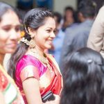 Anitha Sampath, Saree, Sun Network,  function, candid