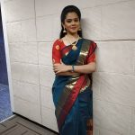Anitha Sampath, Saree, Sun Network, pattu saree