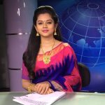 Anitha Sampath, Saree, TV News Anchor, 2018, script