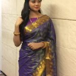 Anitha Sampath, Saree, TV News Anchor,  Smart