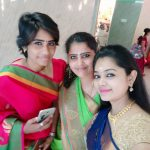 Anitha Sampath, Saree, vanakam tamila vj, function, family