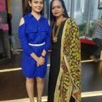 Anitha Sampath, former news anchor, kala master