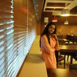 Anitha Sampath, former news anchor, modern dress, naughty