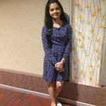 Anitha Sampath, former news anchor, modern dress, spicy