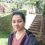 Anitha Sampath, without makeup, News Anchour, selfie