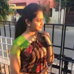 Anitha Sampath, without makeup, sun news, saree, gate