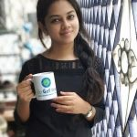Anitha Sampath, without makeup, vanilai arikai, black dress, coffee