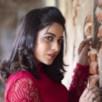 Anjali Rao, Pothanur Tabal Nilayam Actress, red dress