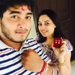 Anjali Rao, Pothanur Tabal Nilayam Actress, selfie, brother