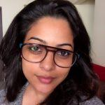 Anjali Rao, glass, selfie