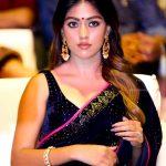 Anu Emmanuel, event, saree, press meet, Thupparivaalan